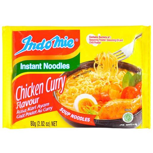 MI GORENG INSTANT NOODLE CURRY CHICKEN 80GM