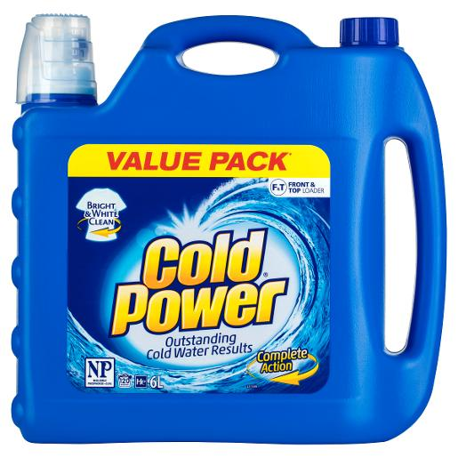 REGULAR ONE FORM COLD WATER LAUNDRY LIQUID WASHING 2X6L