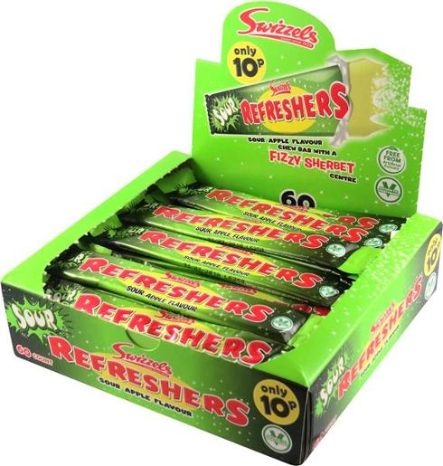SOUR APPLE REFRESHERS 1.8KG
