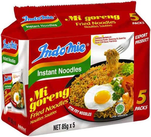 MI GORENG INSTANT NOODLE FRIED 5 PACK 425GM