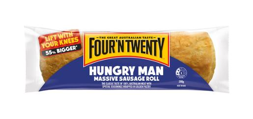 HUNGRY MAN SAUSAGE ROLLS 280GM