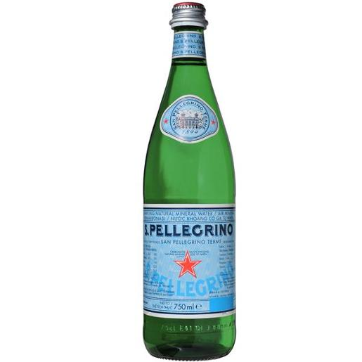 SPARKLING MINERAL WATER 750ML
