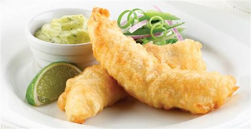 BEER BATTERED FLATHEAD 3KG