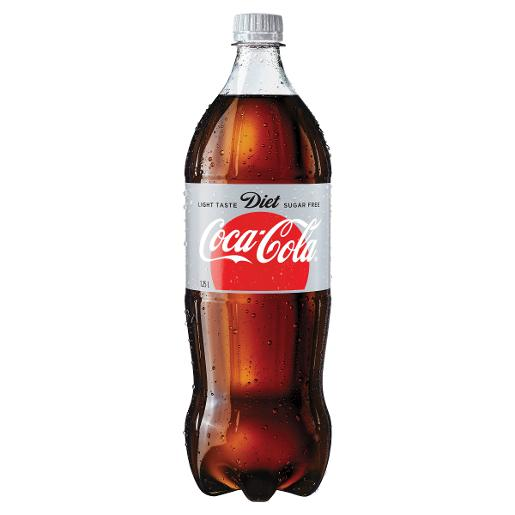 Sports Bottle Woolworths: COCA COLA DIET SOFT DRINK 1.25L