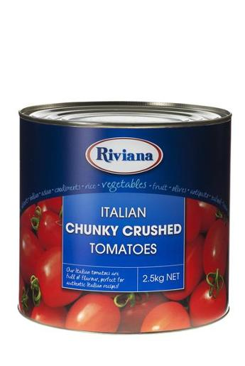 CHUNKY CRUSHED TOMATOES 2.5KG