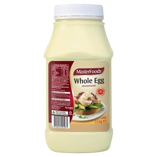 WHOLE EGG MAYONNAISE 2.2KG