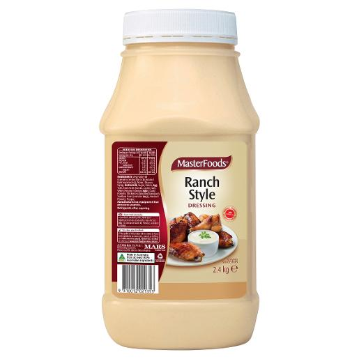 RANCH STYLE SALAD DRESSING 2.4KG