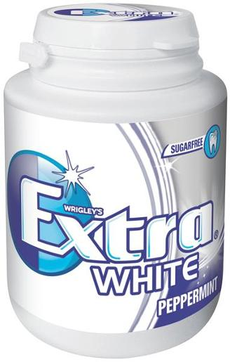EXTRA WHITE 46 PIECE PELLET BOTTLE MEGAPACK 64GM