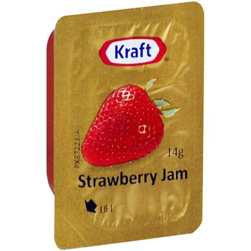 STRAWBERRY JAM PORTIONS 75X14GM