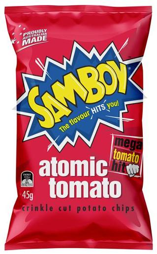 TOMATO POTATO CHIPS 45GM