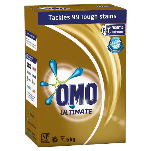 FRONT & TOP ULTIMATE LAUNDRY POWDER 5KG