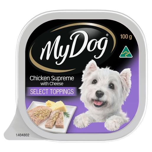 CHICKEN SUPREME & CHEESE DOG FOOD 100GM